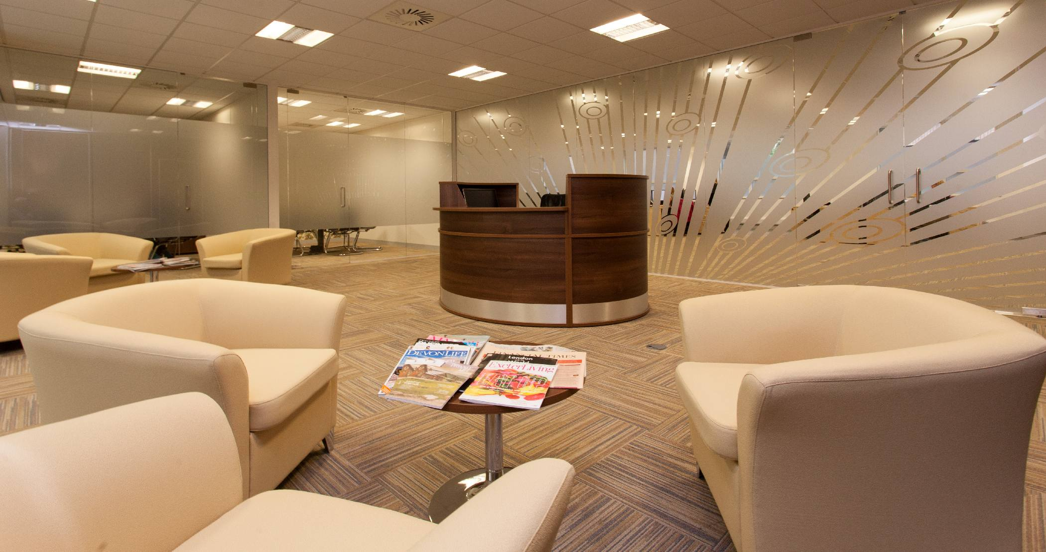 exeter office space. Private Bankers Arbuthnot Latham Undergo Massive Refit Of Exeter Office Space