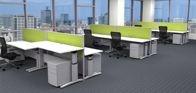 create a healthier working environment with sit stand desks md