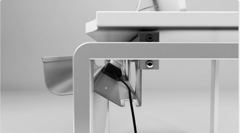 office desk cable management. AURA BENCH Office Furniture, A Modern Classic! Desk Cable Management C