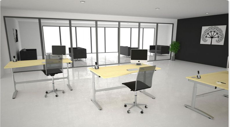 Height Adjustable Office Desks And Office Furniture From