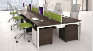 AURA bench modern desk range from Lee and Plumpton.....