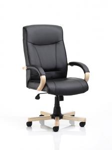 Finsbury black exec chair