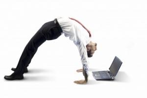 laptop upside down